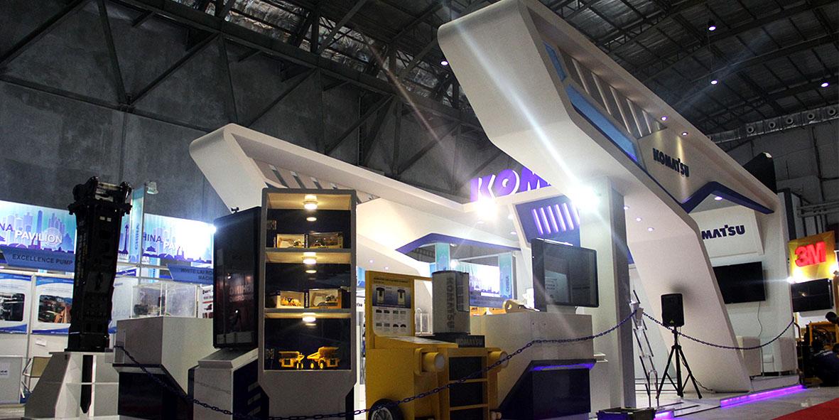 Booth Komatsu