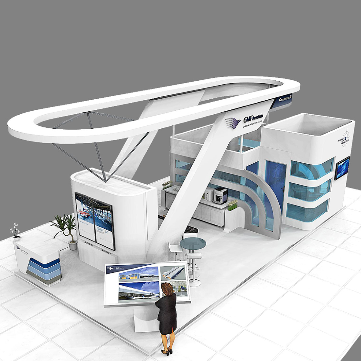 Design Booth Garuda Indonesia