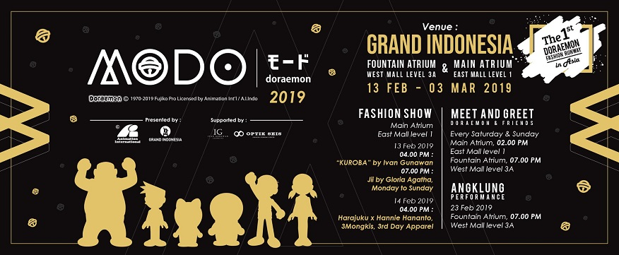 Mode Doraemon Fashion Show 2019